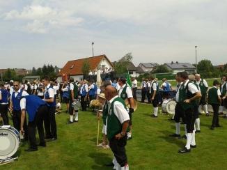 Festzug Ampferbach 20.07.2014