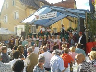 Weinfest Oberschwarzach